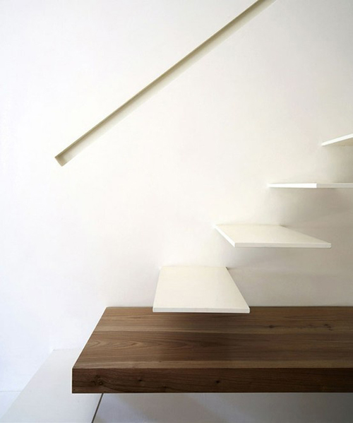 Stair Light Detail: Recessed Handrail